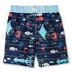Baby Boys' Sealife Print Swim Trunks - Navy