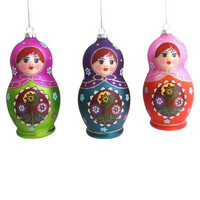 Babuska Ornament Assorted