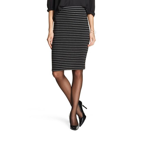 s textured pencil skirt mossimo target