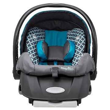 Evenflo Victory Jogging Travel System Embrace Infant Car Seat Reviews