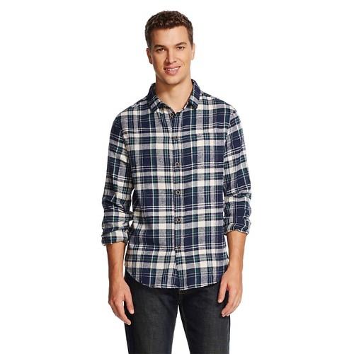 Men 39 S Plaid Flannel Shirt Green Jachs Manufacturing Co Ebay