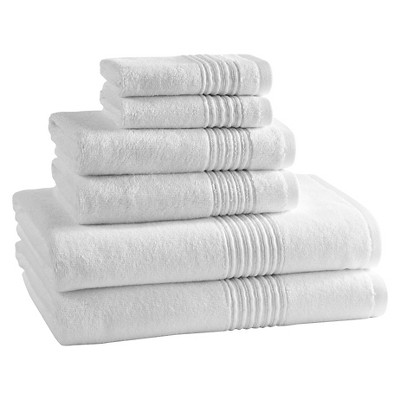 Kassatex Modal Towel Set of 6 - White