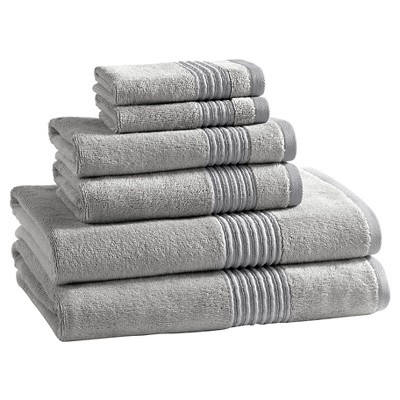 Kassatex Modal Towel Set of 6 - Silver Pond