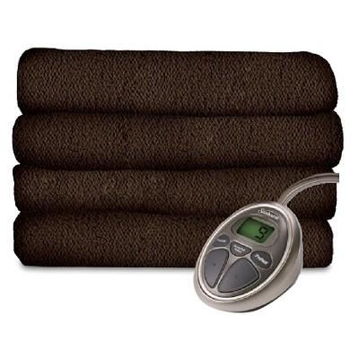 Sunbeam® SlumberRest LoftTec™ Heated Blanket - Brown (King)