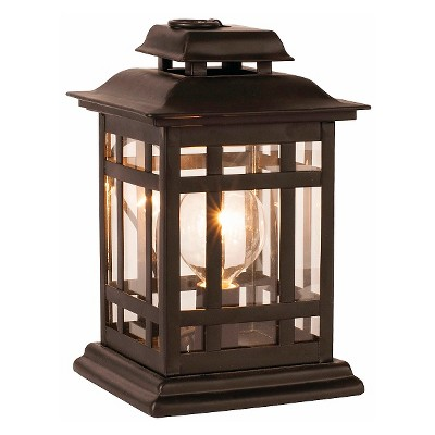Ador Decorative Warmer - Black Lantern