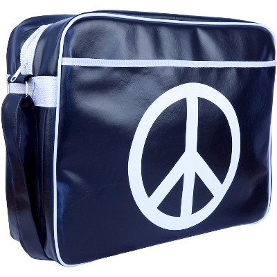 "Urban Factory City Peace & Love Vintage Collection Bag for 13.3"" Laptops - Blue/White(VQ9968)"