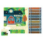 Crocodile Creek Train Station Puzzle & Play Set