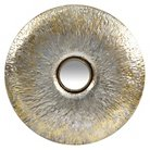 """Infinity Instruments Stockholm Wall Mirror - 25""""D - Silver/Gold"""