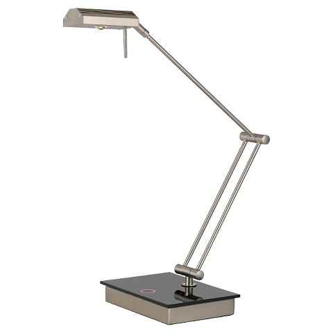 cal lighting led metal desk lamp with touch switch product details. Black Bedroom Furniture Sets. Home Design Ideas