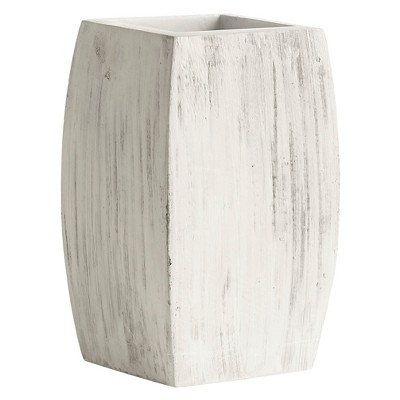 Kassatex Chatham Tumbler - Grey with White Wash