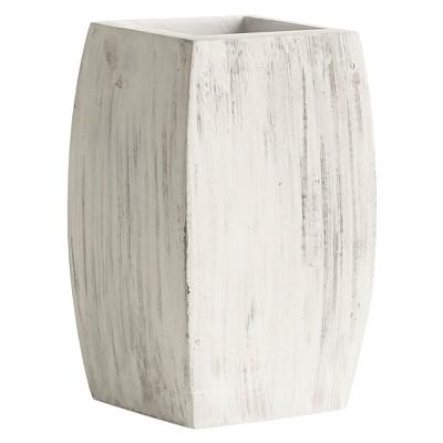 Kassatex Chatham Tumbler - Grey with White Wash