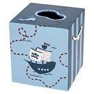 Kassatex Bambini Pirates Accessories Tray - Multi-Colored