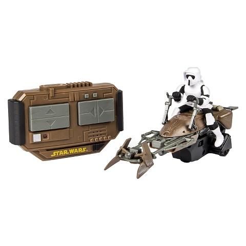 Air Hogs Star Wars Remote Control Speeder Bike