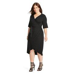Women's Plus Size Wrap Dress - Merona™