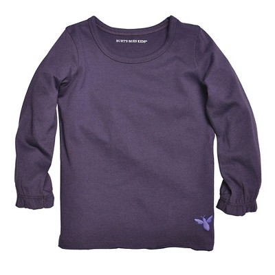 Female Tee Shirts Black Berry 0-3 M