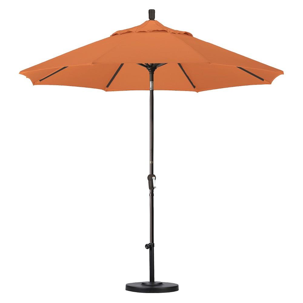 9' Aluminum Auto Tilt Patio Umbrella - Tuscan