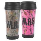 Mr. & Mrs. Camo Coffee Tumblers