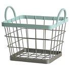 Wire Milk Crate Small Aqua - Pillowfort™