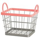 Wire Milk Crate Small Pink - Pillowfort™
