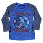 Toddler Boys' Star Wars Long Sleeve Tee Shirt - Royal 2T