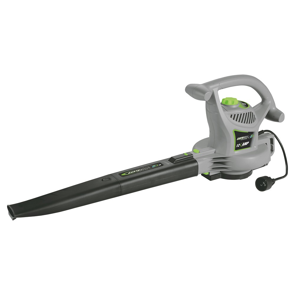 Corded Electric Leaf Blower : Upc earthwise leaf blowers mph cfm