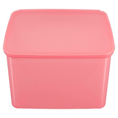 Plastic Bin Large Pink - Pillowfort™