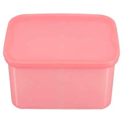 Plastic Bin Small Pink - Pillowfort™