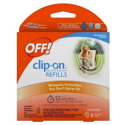 OFF!® Clip-On™ Refill 2-Pack