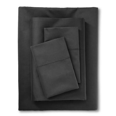 Fieldcrest® Luxury Egyptian Cotton 600 Thread Count Sheet Set - Light Grey (California King)
