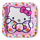 Hello Kitty Snack Plate 8 Count