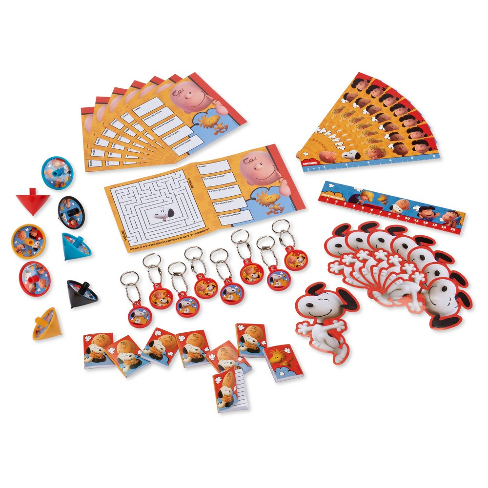 Peanuts Movie Party Favor Value Pack 48 Count