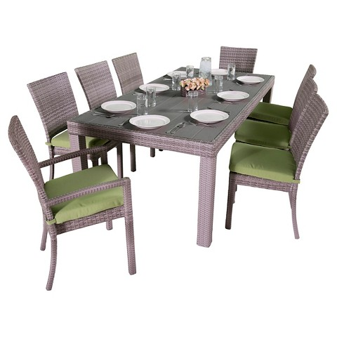 rst brands cannes 9 piece dining set product details page