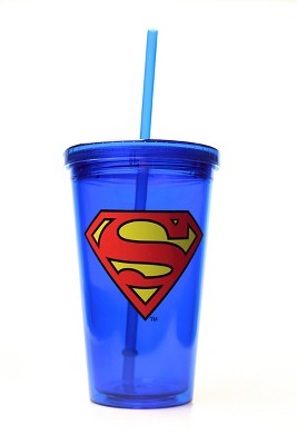 DC Comics Portable Beverage Bottle 16oz. Assortment