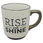 Threshold Speckle Mug - Rise and Shine