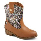 Toddler Girls' COVERGIRL Glitter Cowboy Boots