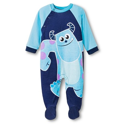 Ecom Male Coveralls Disney 0-3 M BLU