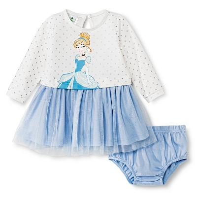 Ecom Female Dress Sets Disney 0-3 M OFFWHT