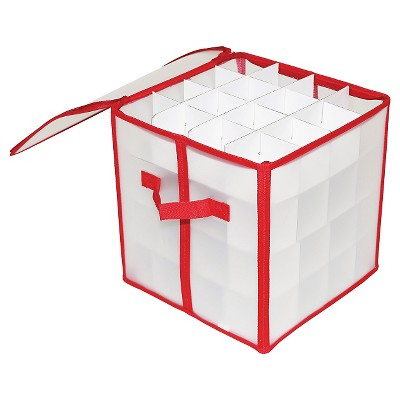 Holiday Ornament Storage Box 64ct