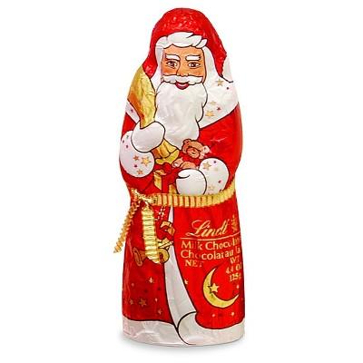 Lindt Santa Milk Chocolate Holiday Figure 4.4oz