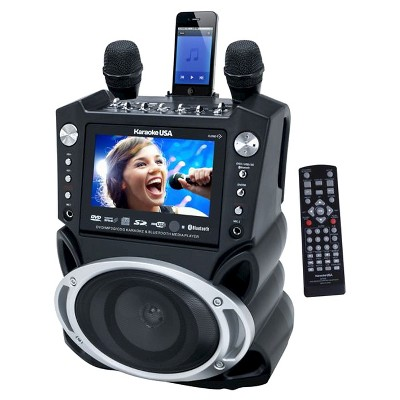Karaoke System Karaoke TFT with LCD Display - Black (GF830)