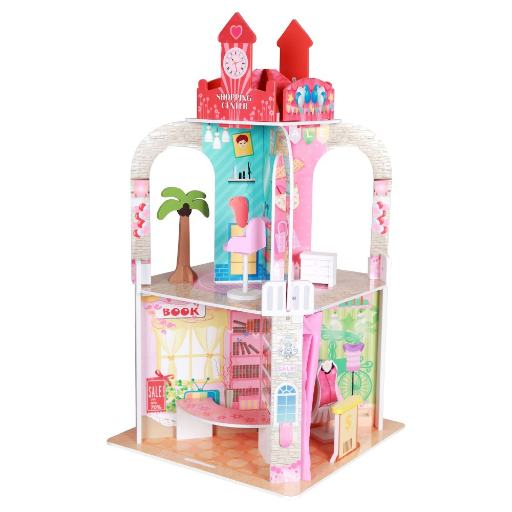 Teamson Kids Shopping Center With 13pcs Figurine