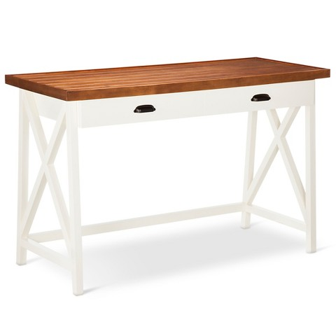 Larkspur Writing Desk Off White Target