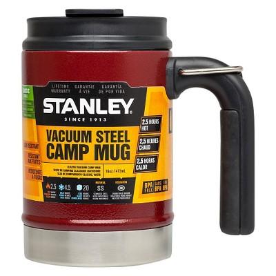 Stanley Classic Vacuum Camp Mug - Crimson (16oz)