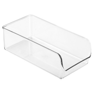 InterDesign Linus Binz Plastic Fridge and Pantry Organizer - Clear (Medium)