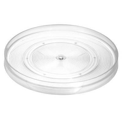 InterDesign Linus Lazy Susan Turntable - Clear (Medium)