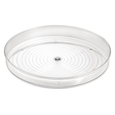 InterDesign Linus Lazy Susan Turntable - Clear (Small)