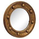 "Go Home Titanic Wall Mirror - 18""Wx1""D - Deep Gold"