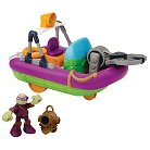 Teenage Mutant Ninja Turtles Half Shell Heroes - Dive Boat with Diver Donnie