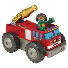 Teenage Mutant Ninja Turtles Half Shell Heroes - Fire Truck to Tank with Raph