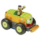 Teenage Mutant Ninja Turtles Half Shell Heroes - Shellraiser to City Sanitation Truck with Donnie